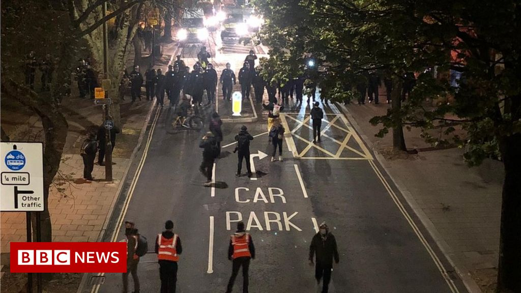 Kill the Bill: Police make two arrests following latest protest