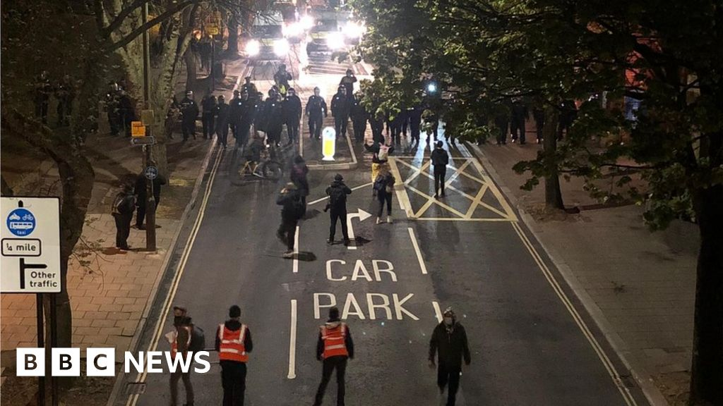 Kill the Bill protest: Man charged over police officer assaults