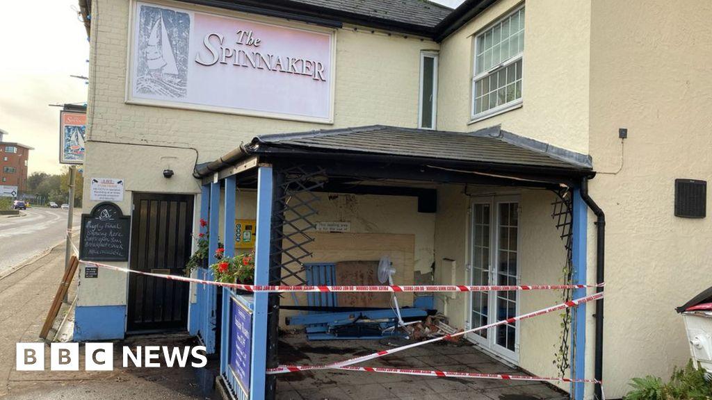 Colchester murder arrest after man killed as car hits pub