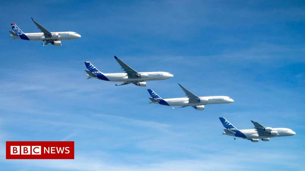 Plane-maker Airbus to cut 15,000 jobs amid coronavirus fallout thumbnail