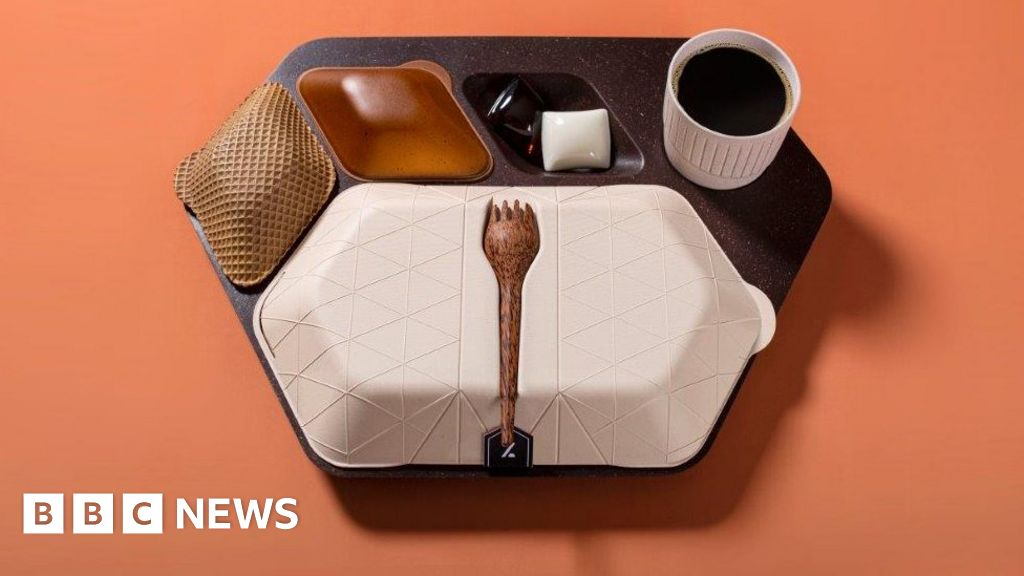 Is this the in-flight meal tray of the future?