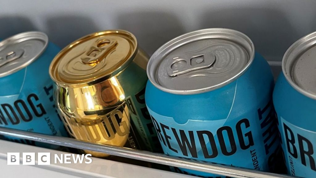 Brewdog's solid gold beer can ad misleading, ASA says
