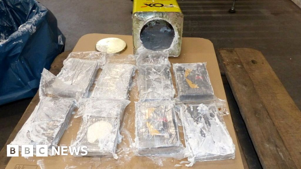 Cocaine 'worth billions' seized in record Germany and Belgium haul