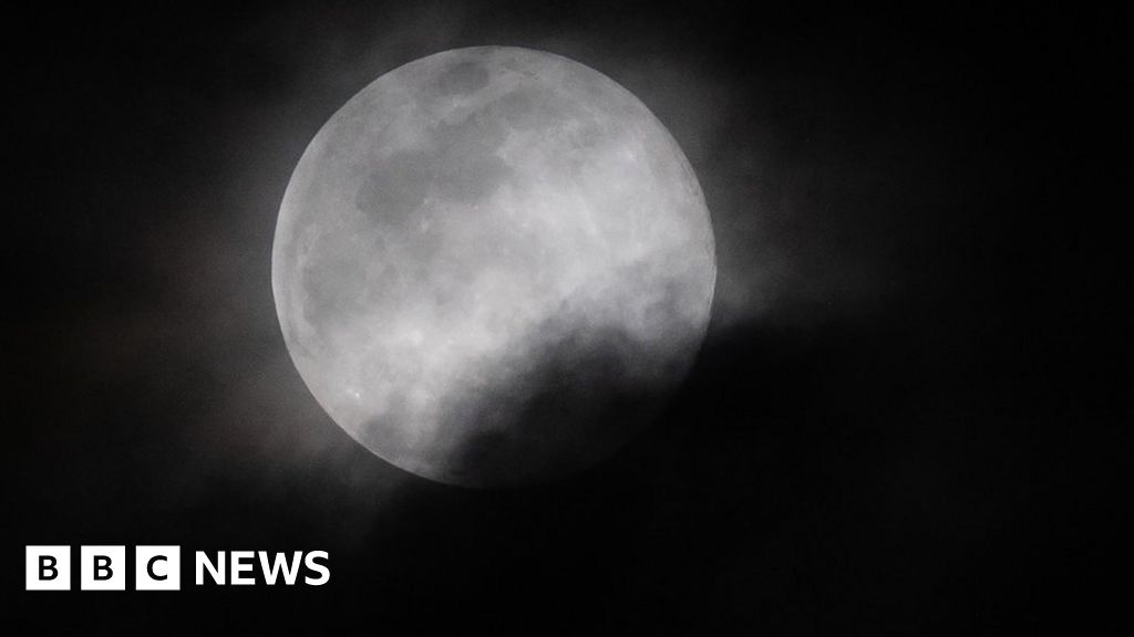 Super worm moon: Images of the last supermoon of 2019