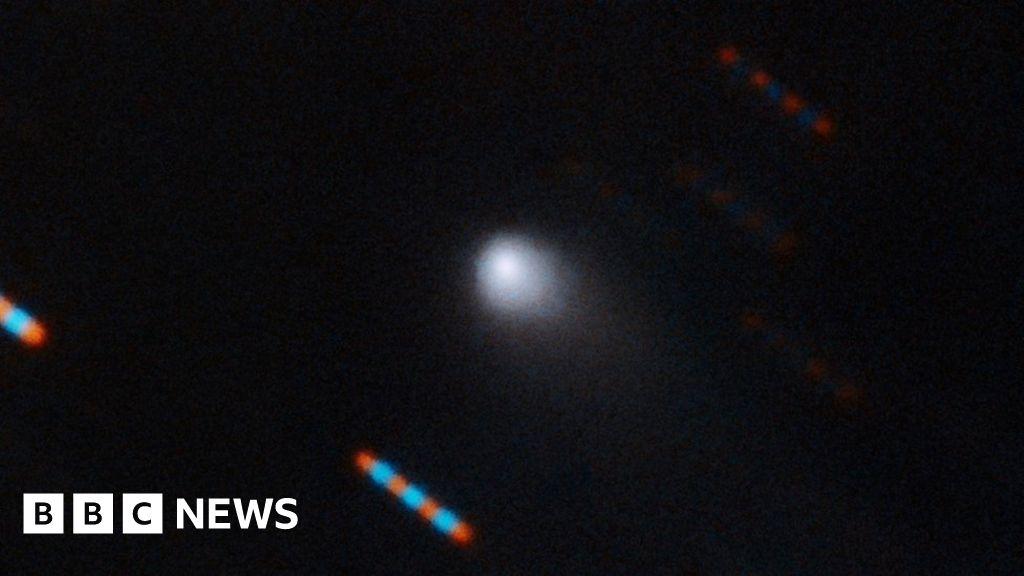 First measurements of 'interstellar comet'