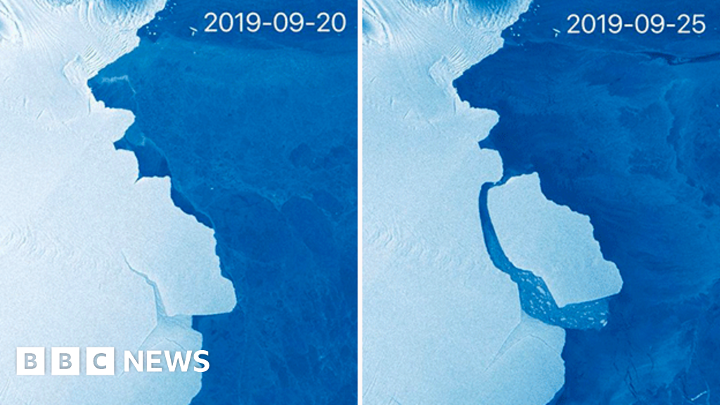315 billion-tonne iceberg breaks off Antarctica