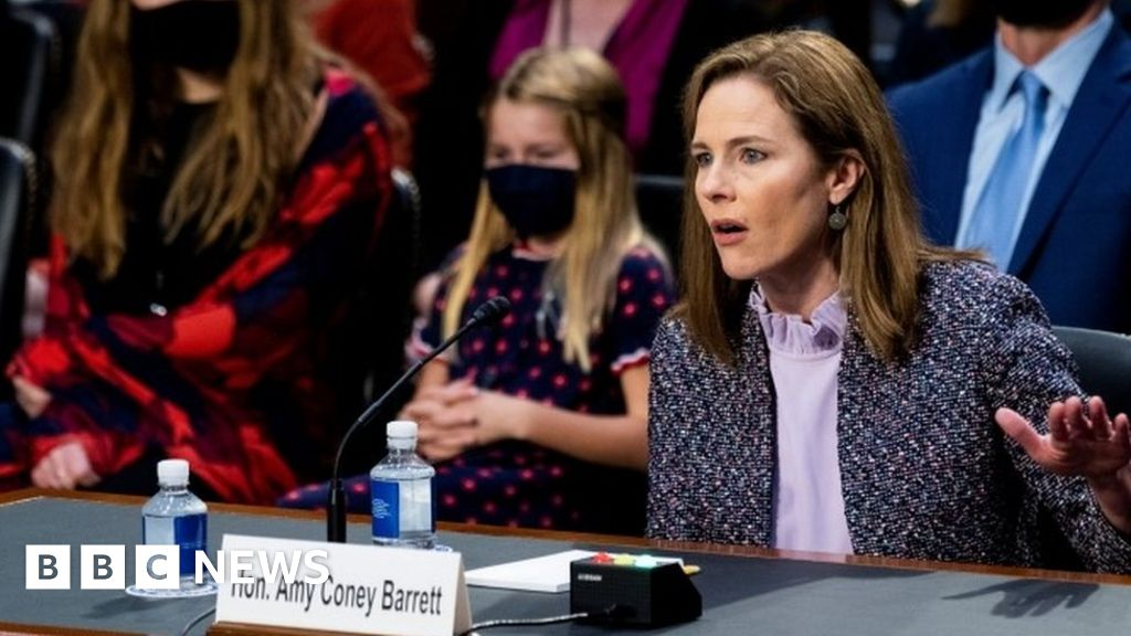 Amy Coney Barrett: Trump US Supreme Court pick faces fresh questioning