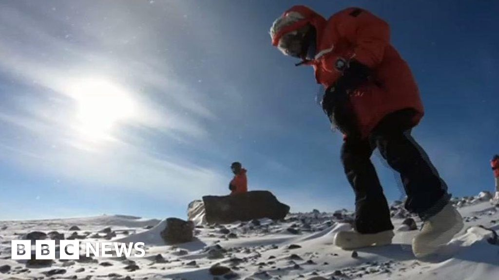 How to find a meteorite in Antarctica thumbnail