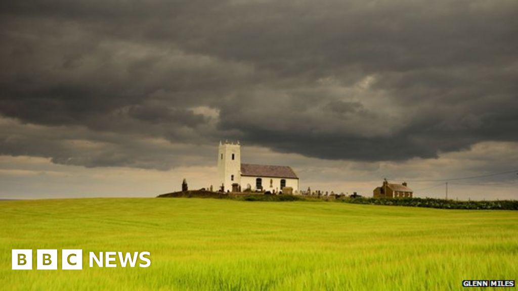 cold  wet and gloomy july weather for northern ireland