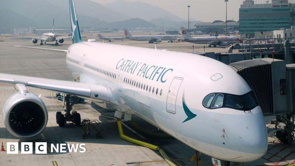 Covid: Cathay Pacific to run at half capacity next year