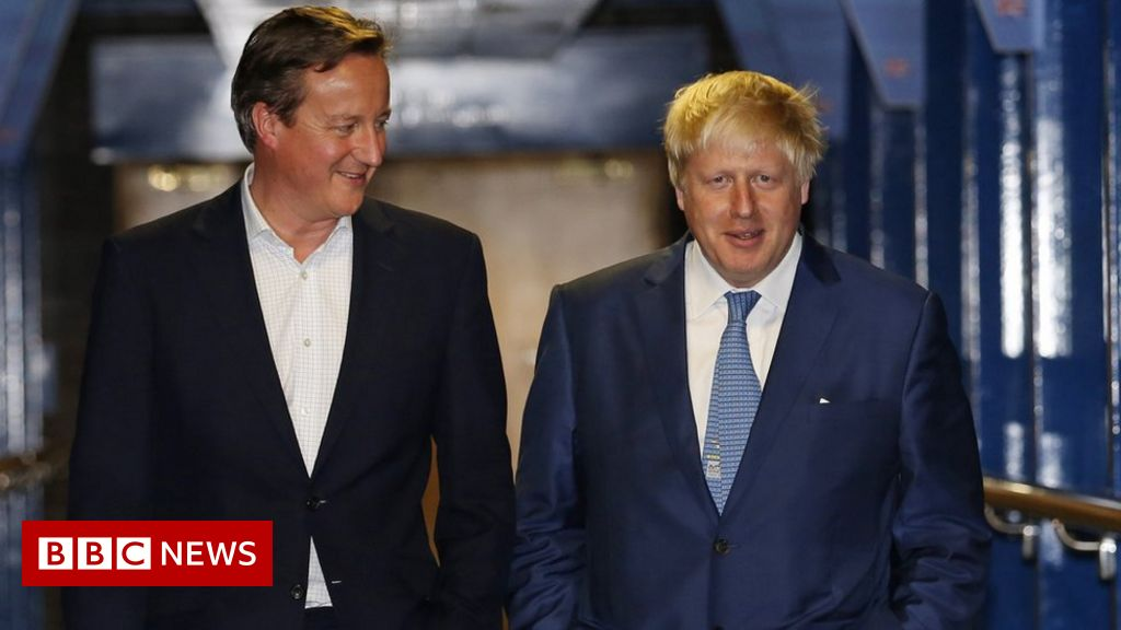 David Cameron, Johnson and Gove behaved  appallingly