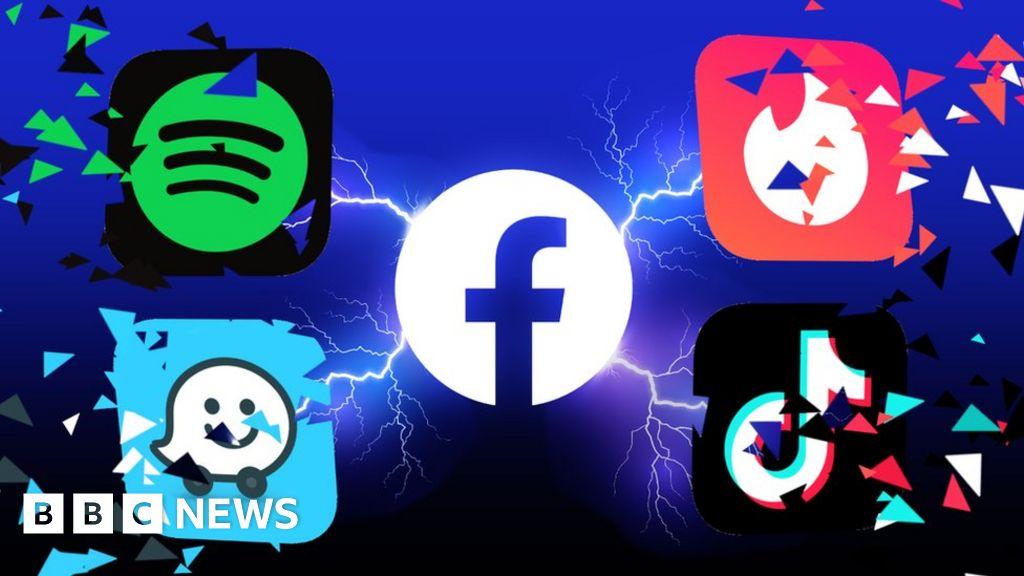 Le app di Apple collassano quando Facebook prende la colpa