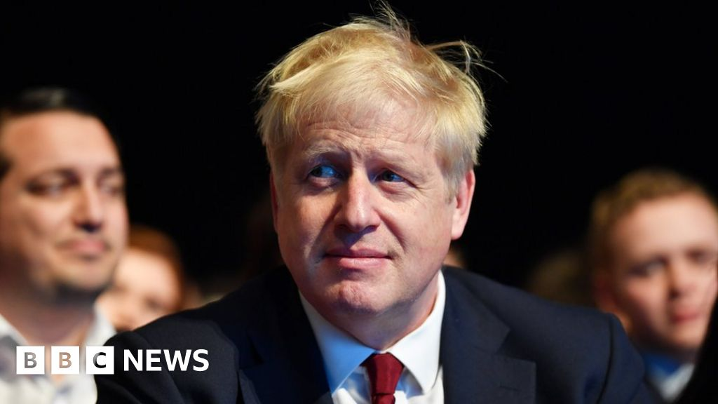 Johnson rejects leaks over Irish border plan