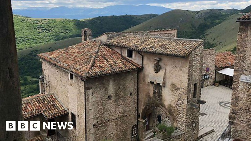 Reviving Italy S Ghost Towns With An Unusual Hotel Bbc News