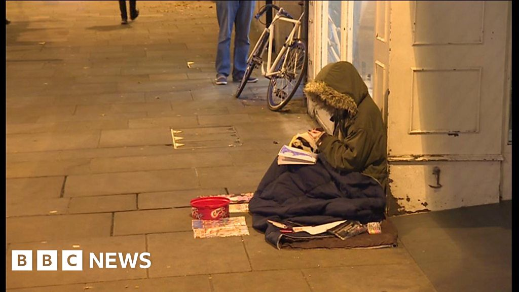 Rise in Oxford's rough sleepers