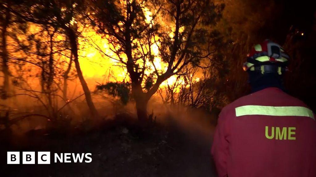 QnA VBage European heatwave: Spain battles major Catalonia wildfire