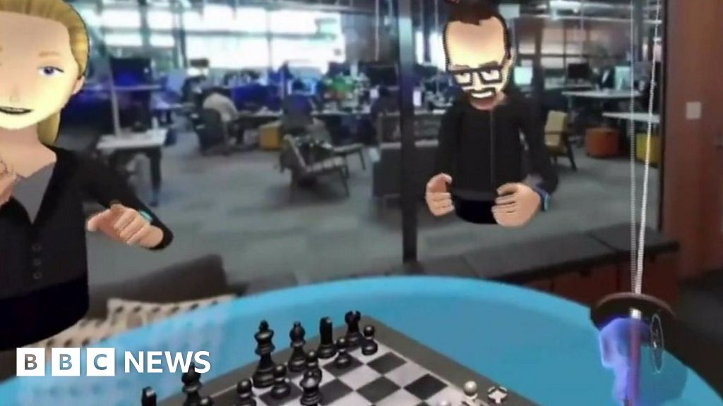 Bbc News Facebook: Facebook Shows Off Its Virtual Reality