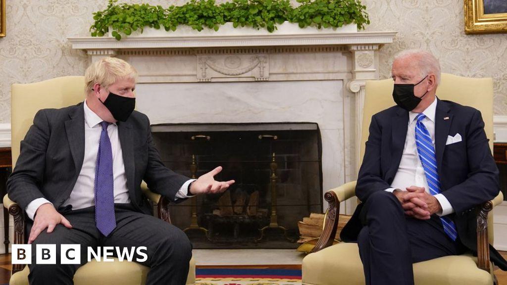 Joe Biden downplays chances of UK-US trade deal