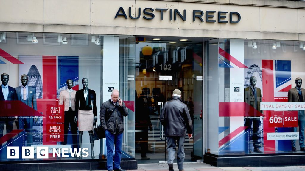 Austin Reed Collapse To Cost 1 000 Jobs Bbc News