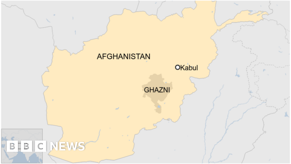 Passenger plane crashes in Afghanistan
