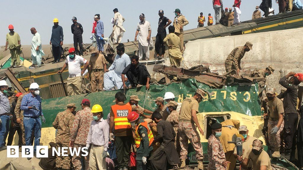 Pakistan train accident: Family describes wedding tragedy as death toll rises