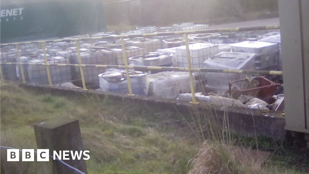 Fly Infested Dump In Newton Mearns Cleared Of Tonnes Of Waste Bbc News