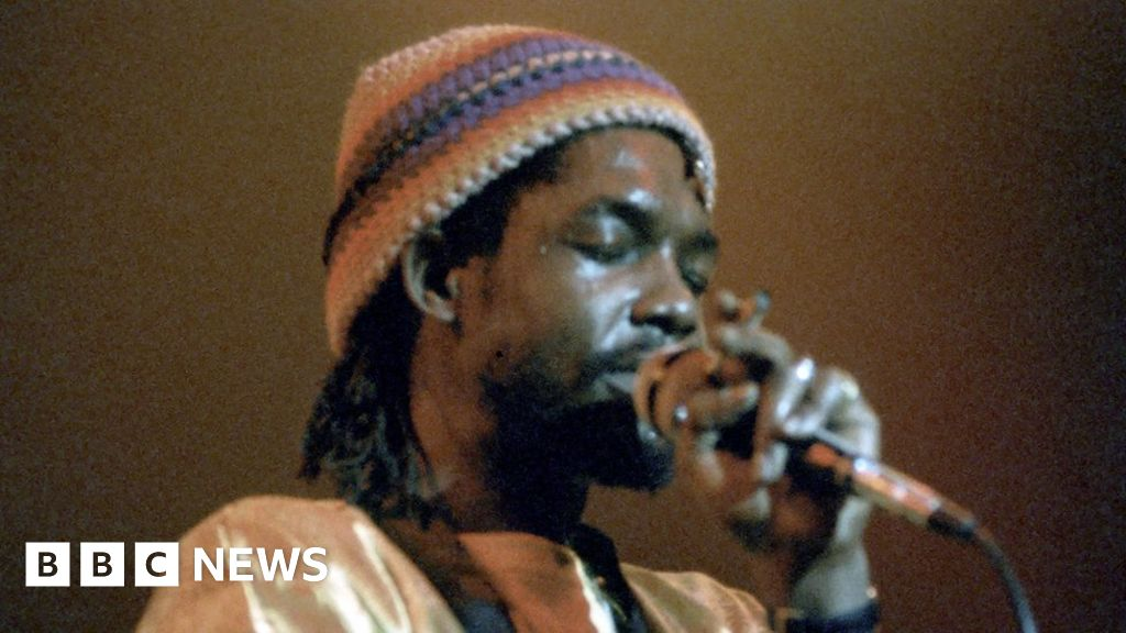 """""""My father's music is message music, to uplift the world from its slumbering mentality,"""" says reggae musician Andrew Tosh, speaking fro"""