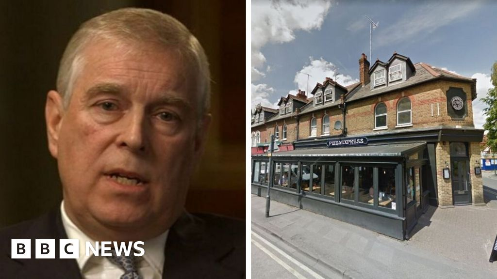Prince Andrew Pizza Express Woking Reviews Suspended Bbc News