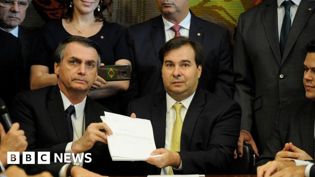 Bolsonaro proposes pension overhaul for Brazil