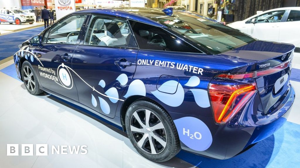 Behind The Wheel Of A Hydrogen Powered Car Bbc News