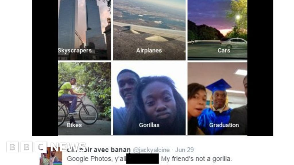 Google apologises for Photos app's racist blunder - BBC News