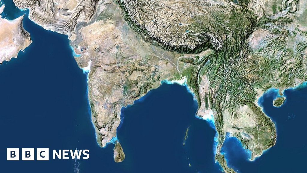 Setelight Map Of India.India To Ban Unofficial Maps And Satellite Photos Bbc News
