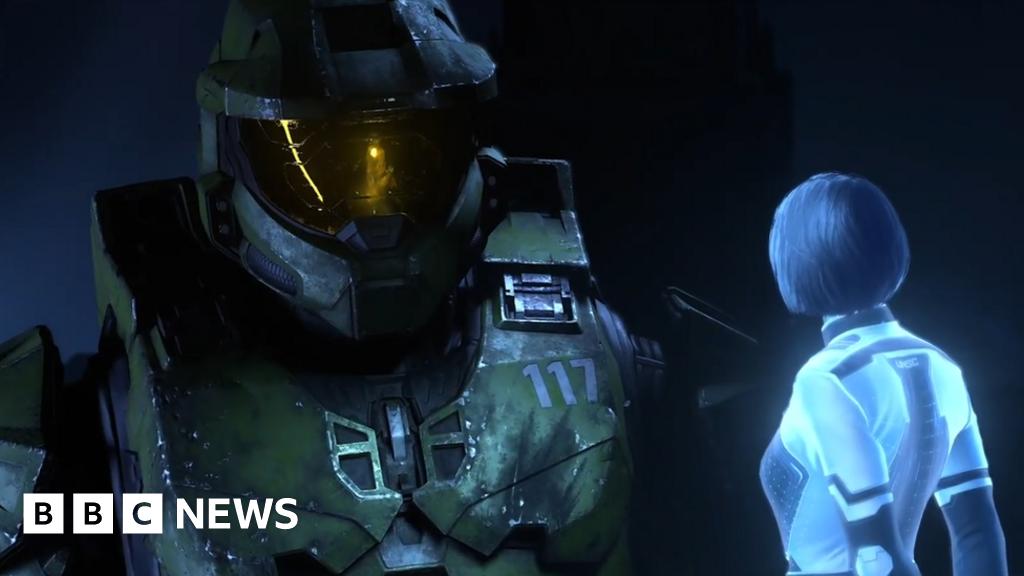 E3 2021: Microsoft shows off Halo Infinite, Starfield and Forza Horizon 5 - BBC News