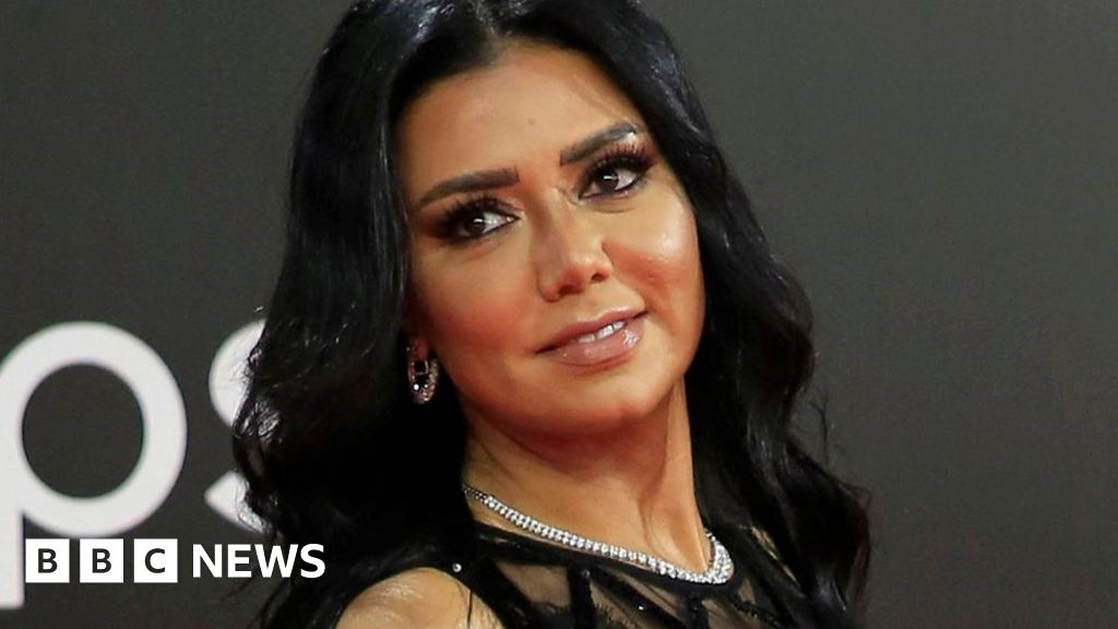 Egyptian Actress Rania Youssef Accused Over Revealing Dress Bbc News