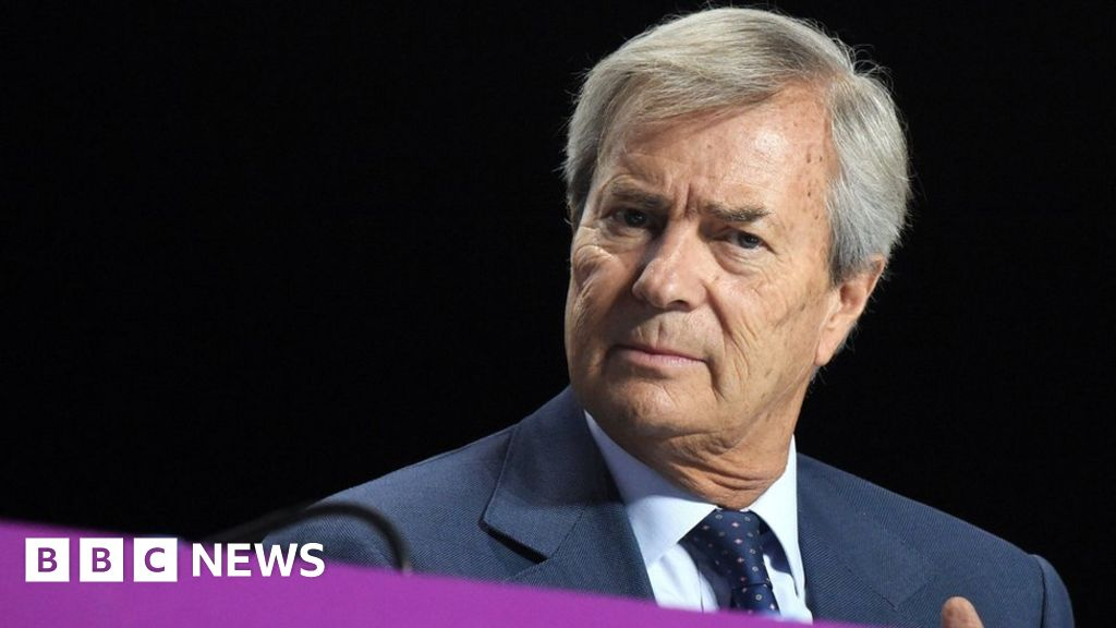 Vincent Bolloré: French tycoon held over 'Africa corruption'