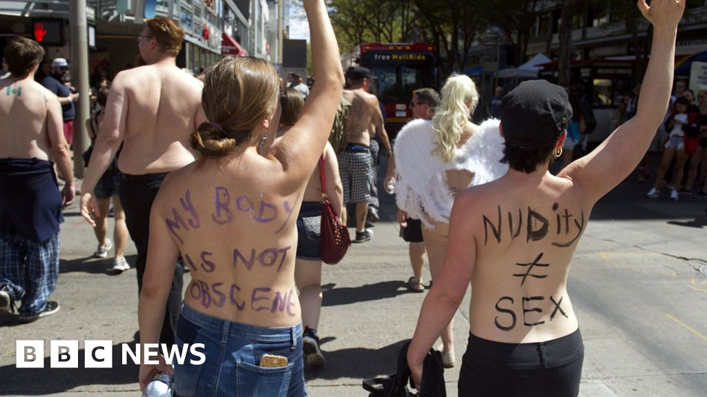 The USA has a problem with Topless women?