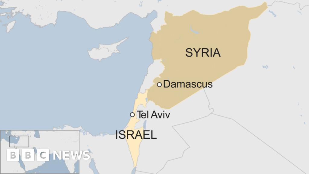 Israeli 'hitting Iranian targets in Syria'