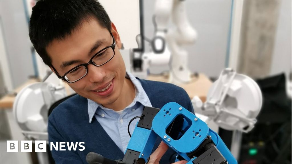 , Puppy training a robotic dog points to the future, Saubio Making Wealth