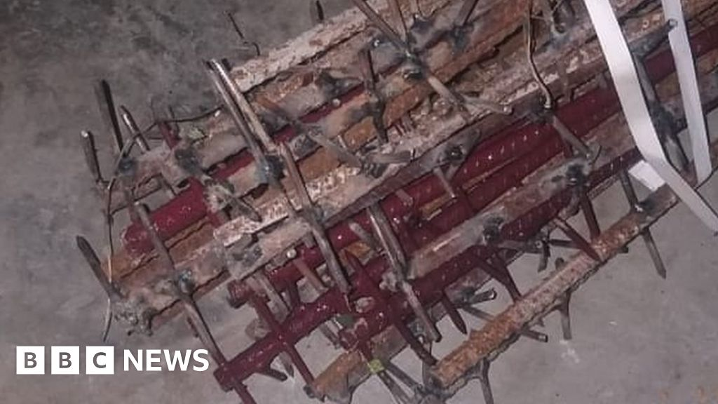 Galwan valley: the image is displayed, to show the nail-studded rods used in India and China brawl