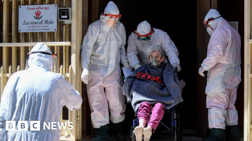 Coronavirus: Europe's care homes struggle as deaths rise