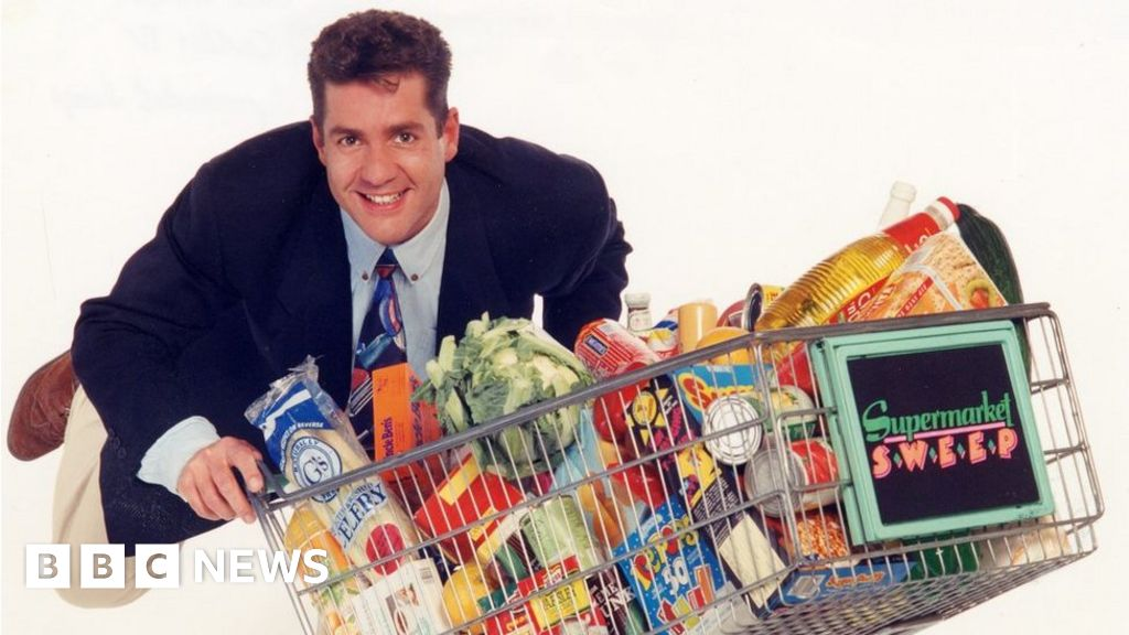 'I was a contestant on Dale Winton's Supermarket Sweep'