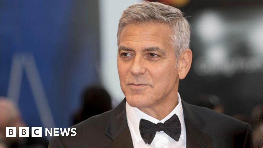 George Clooney injured in Italian motorbike crash