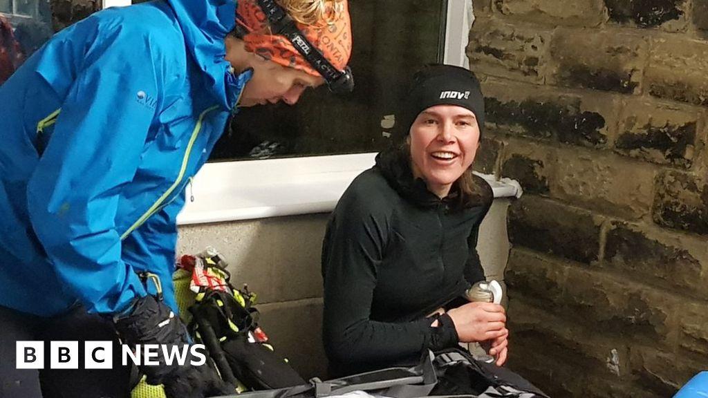 Nursing mother smashes 268-mile race record