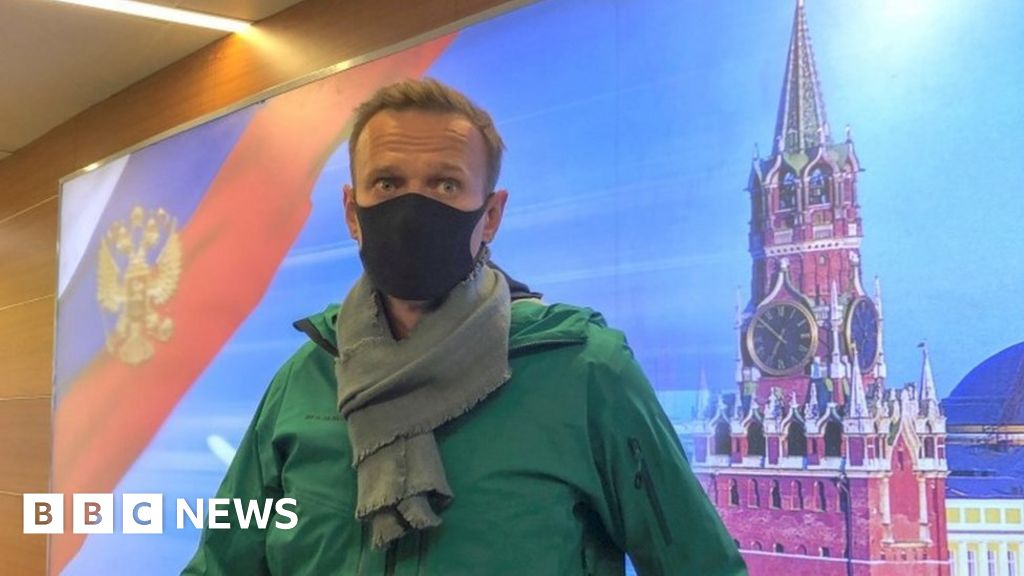 Alexei Navalny: EU and US demand release of poisoned Putin critic