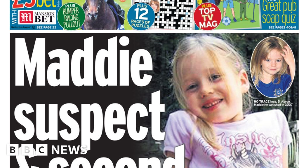 Headlines: Madeleine suspect linked to second missing girl