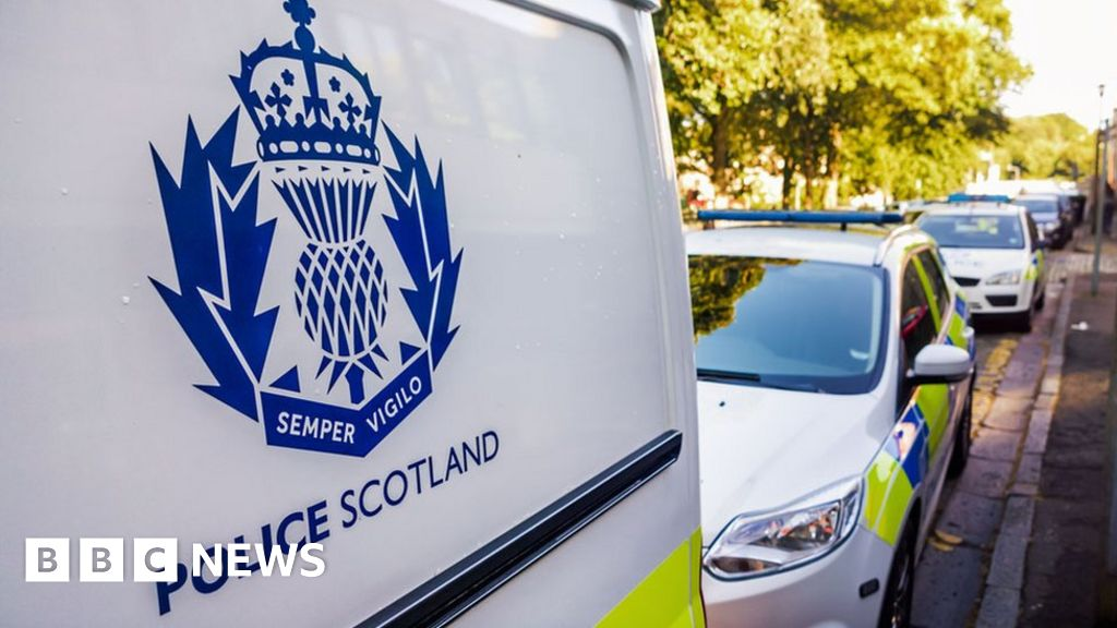Review after woman set fire to herself in Glasgow police van - BBC News
