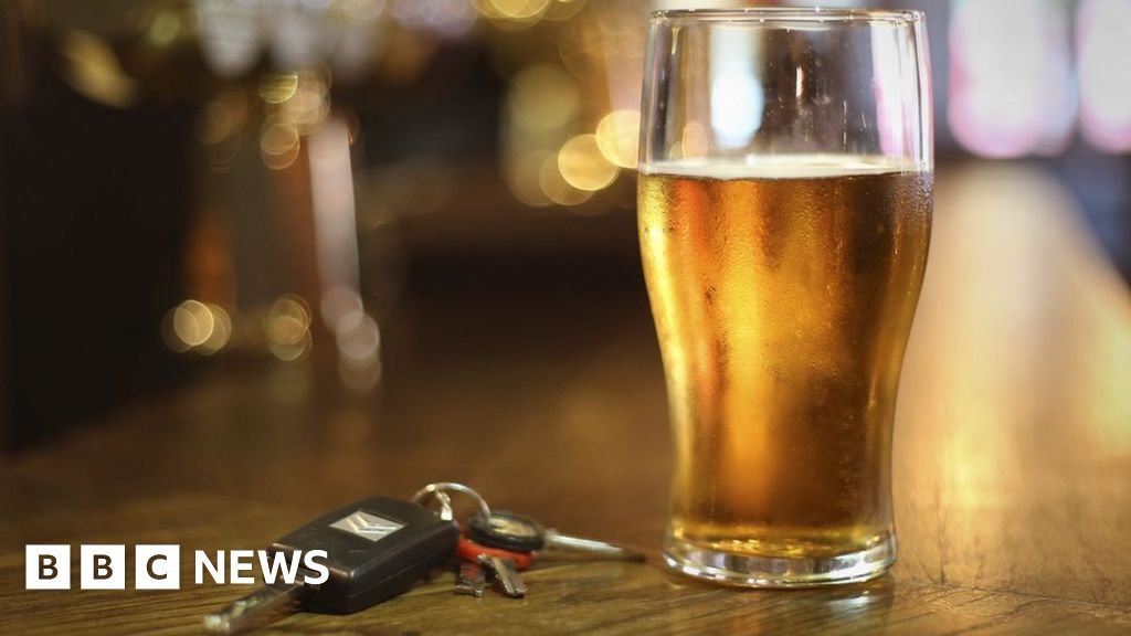 Pint of beer and keys