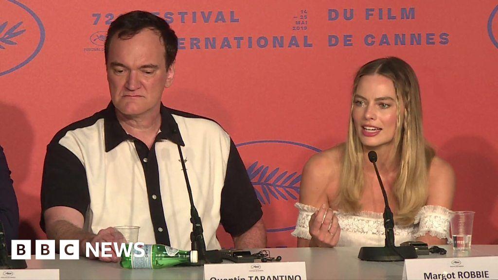 Tarantino 'rejects' Margot Robbie question
