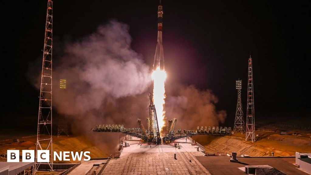 Astronauts lift off successfully this time