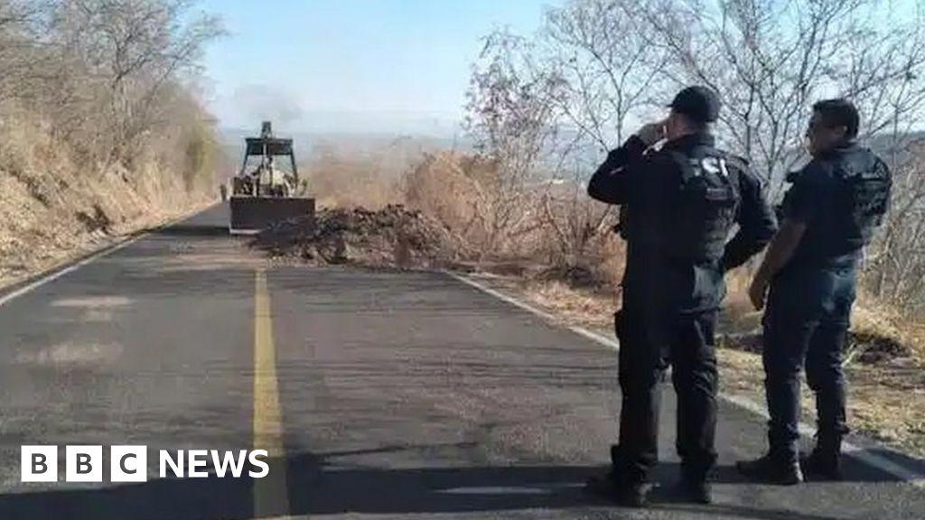 Mexico cartel used explosive drones to attack police